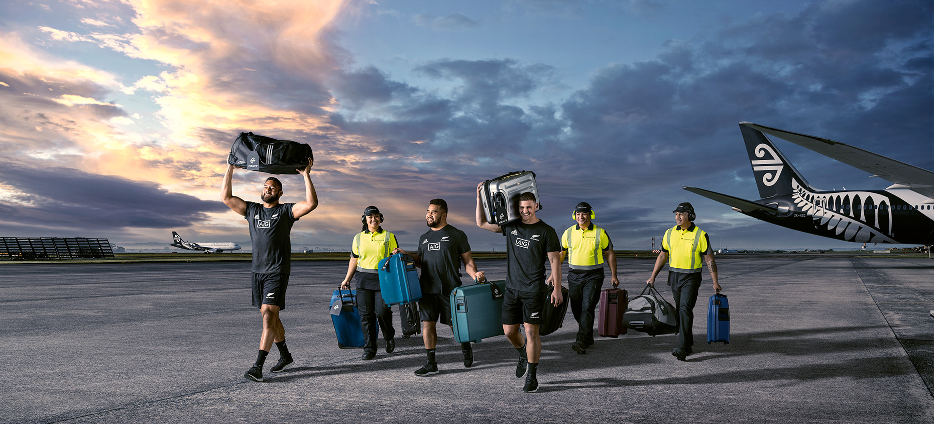 Advertising  Photographer for Air New Zealand and the all blacks, retouching and Photography Photoshop